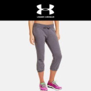 Under Armour UA Gray drawstring sweat pants Medium